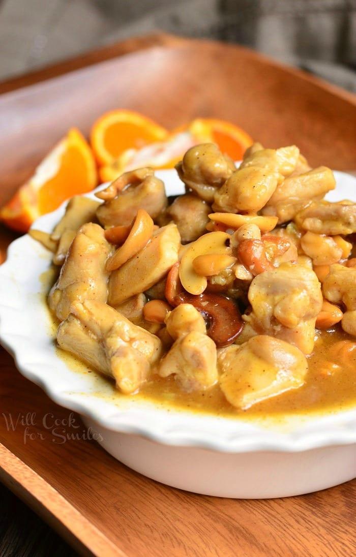 Nutty Light Orange Chicken   from willcookforsmiles.com