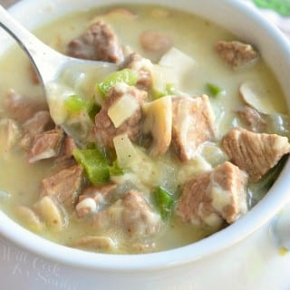 Steak and Cheese Soup