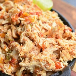 Crock Pot Shredded Salsa Chicken