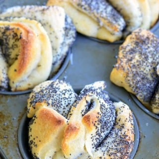 Easy Poppy Seed Pull Apart Muffins