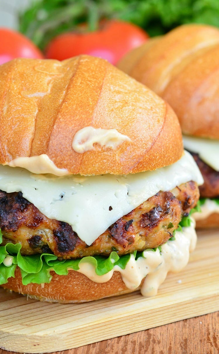 Spicy Chipotle Chicken Burger