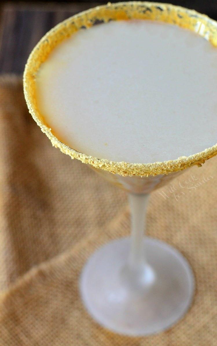 Caramel Cake Martini | from willcookforsmiles.com