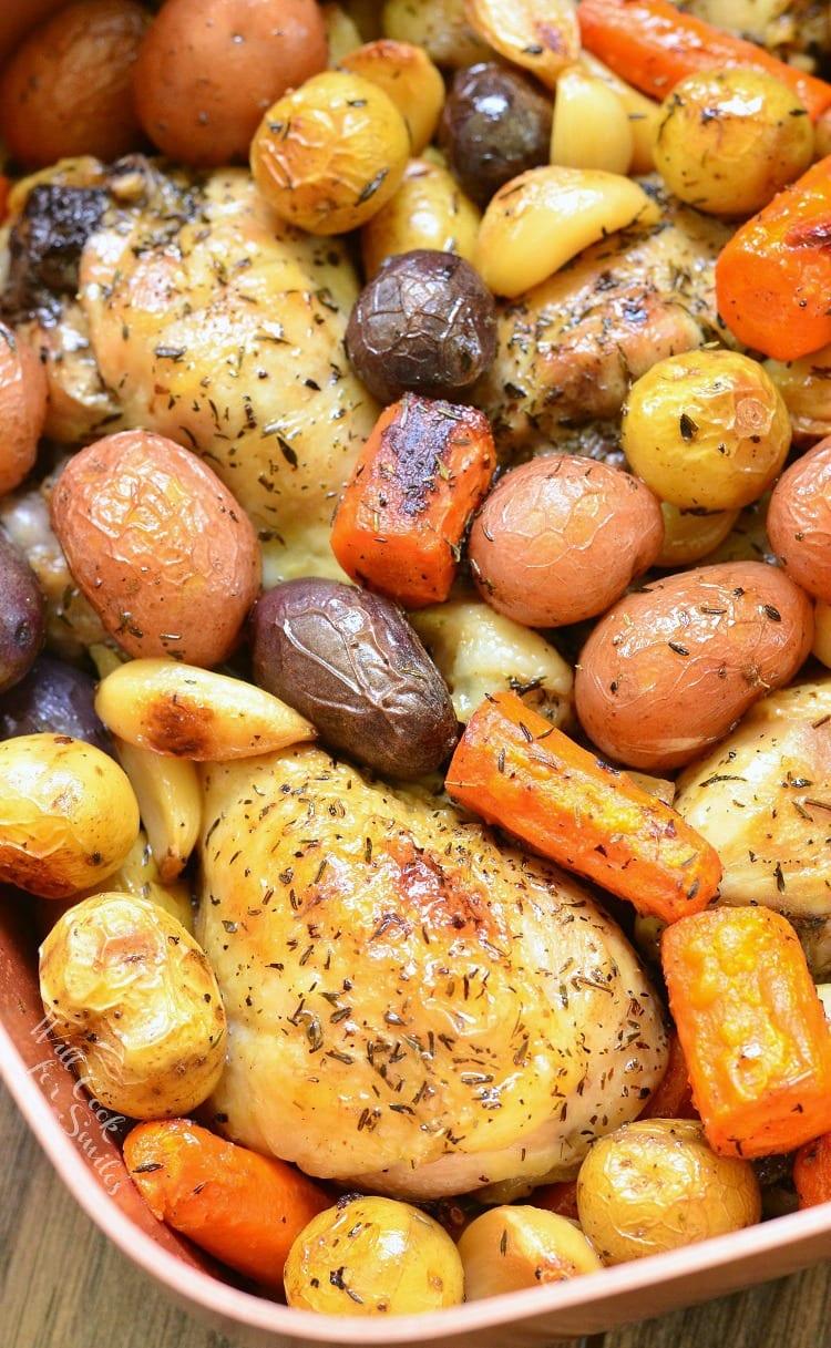 Braised Garlic Chicken DrumsticksWill Cook For Smiles