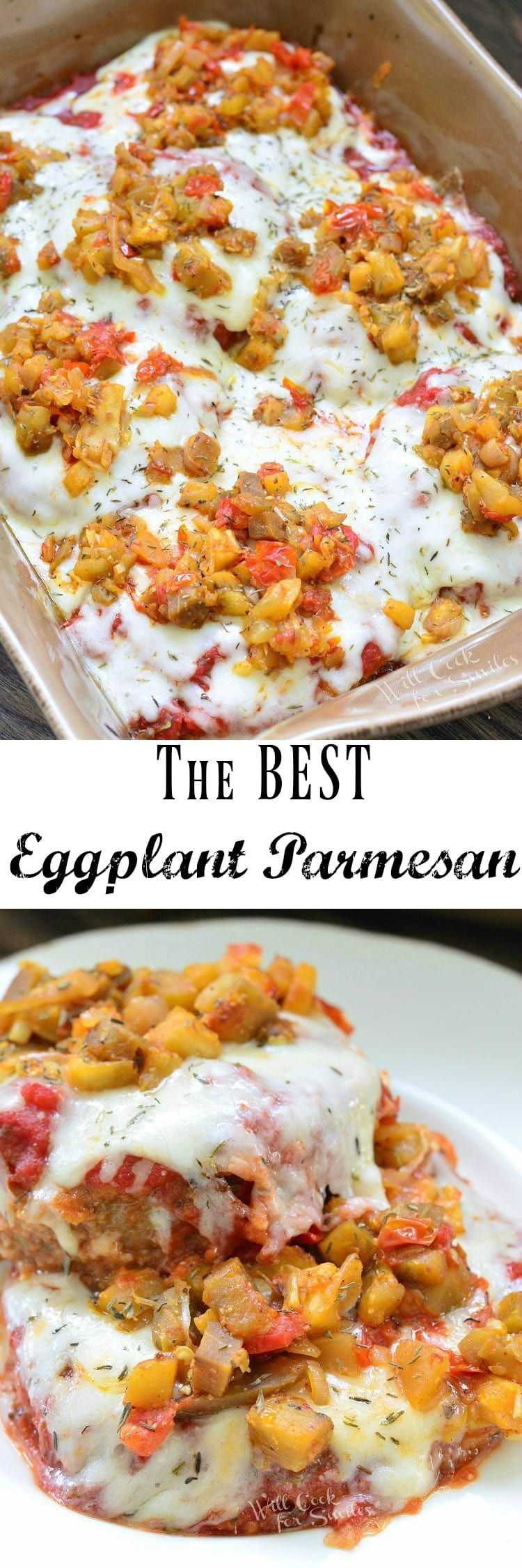 The BEST Eggplant Parmesan. A classic family favorite dish that's ...