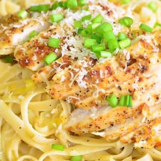 Lemon Pepper Chicken Fettuccine