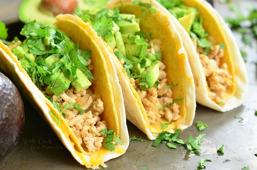 how to cook ground turkey for tacos