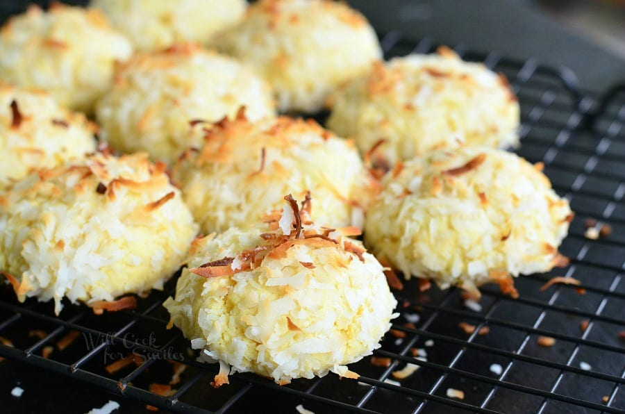 Coconutties - Coconut Pudding Cookies