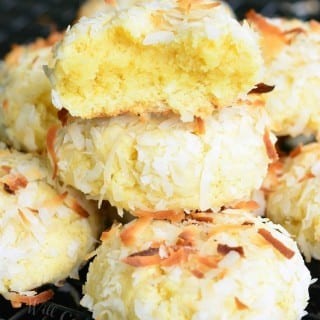 Coconutties – Coconut Pudding Cookies
