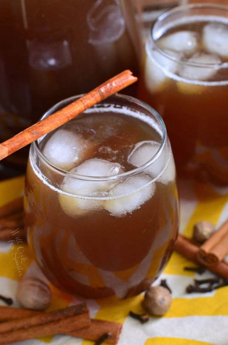Spiced Iced Tea. from willcookforsmiles.com