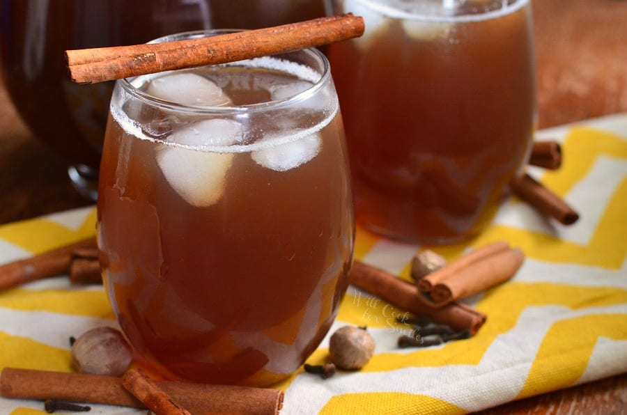 Spiced Iced Tea.