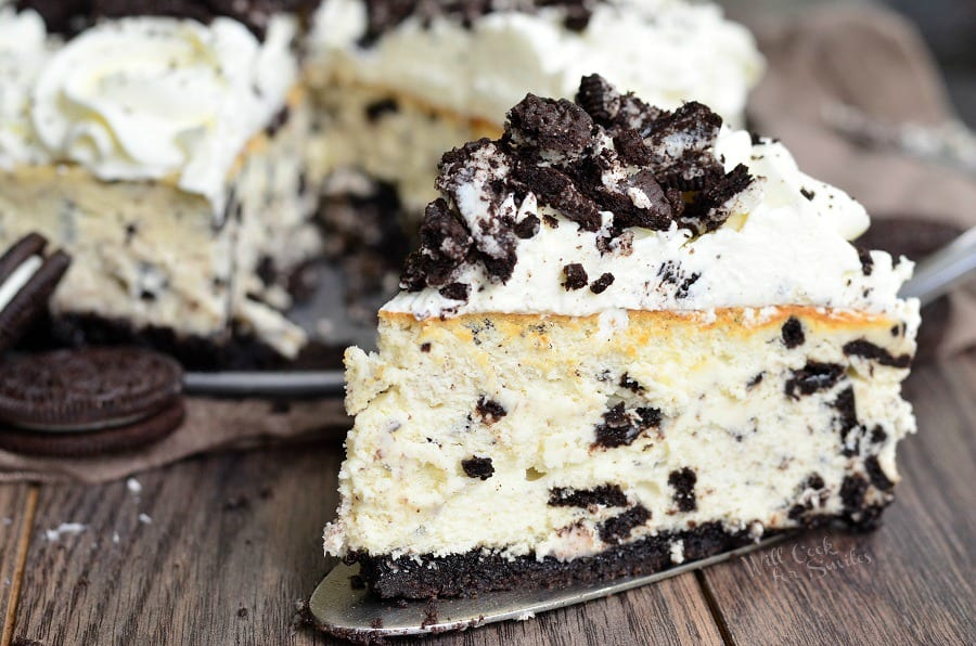 The Ultimate Oreo Cheesecake. from willcookforsmiles.com