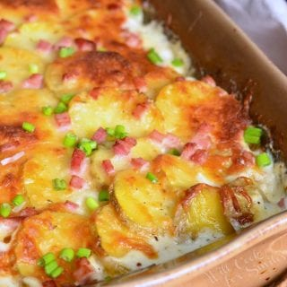 Chicken Cordon Bleu Scalloped Potatoes Recipe
