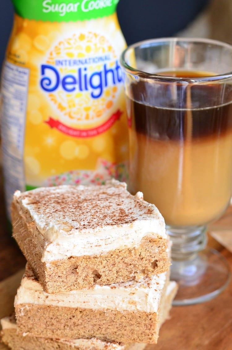 Cinnamon Brown Butter Sugar Cookie Bars