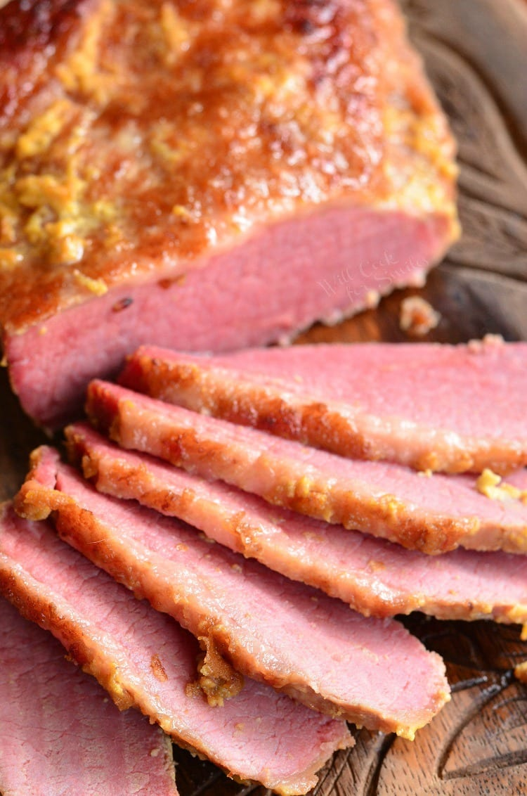 3-Ingredient Oven Baked Corned Beef Brisket. Amazing, tender corned beef brisket cooked in the oven with just three ingredients.