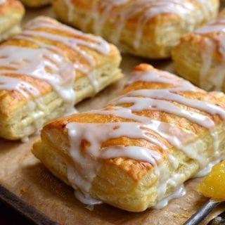 Lemon Cheesecake Hand Pies
