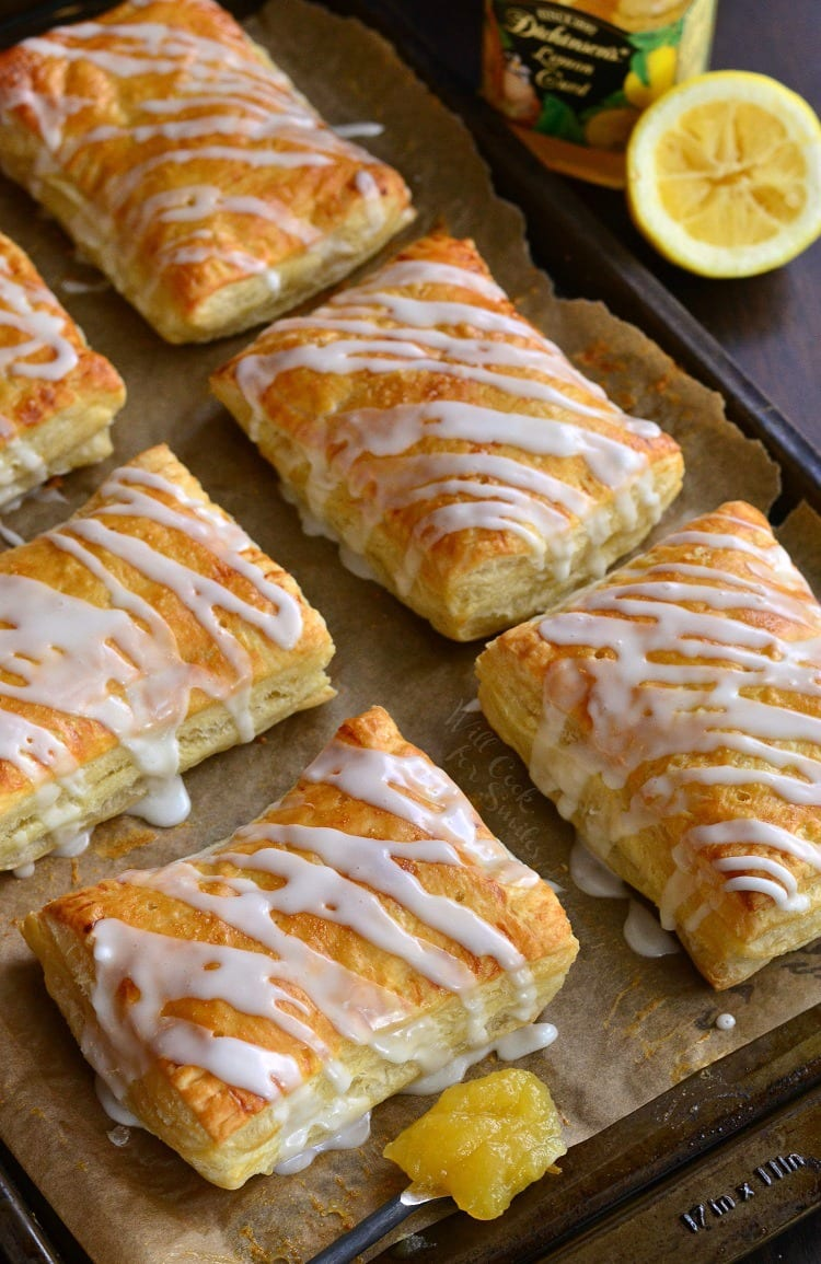 Lemon Cheesecake Hand Pies. from willcookforsmiles.com