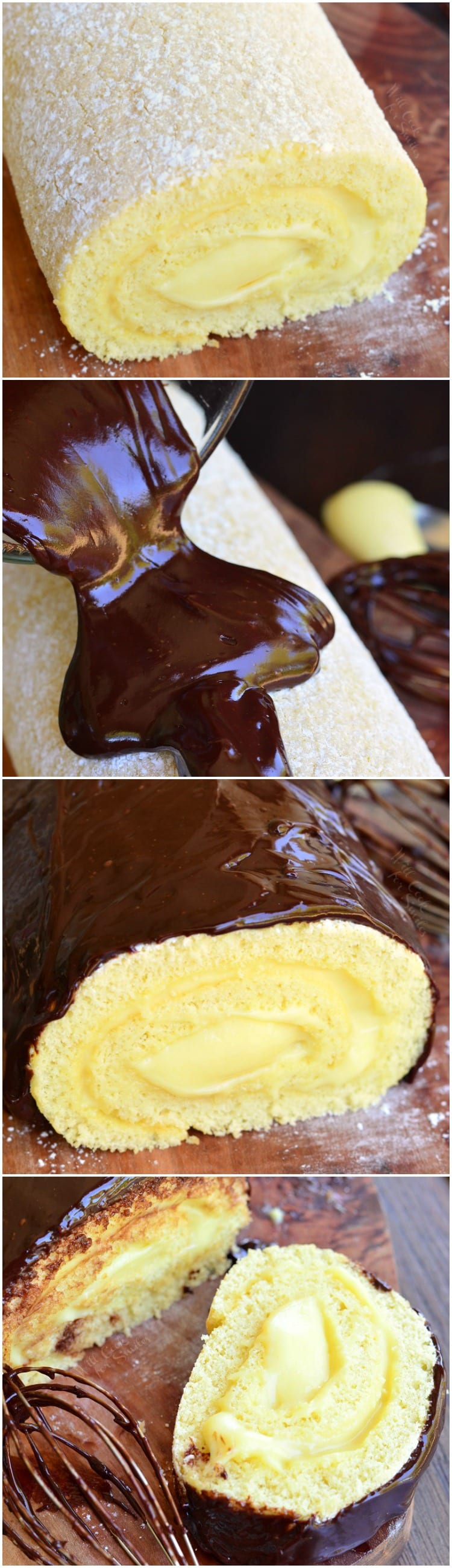boston cream cake recipe boston cake roll will cook for smiles 2017