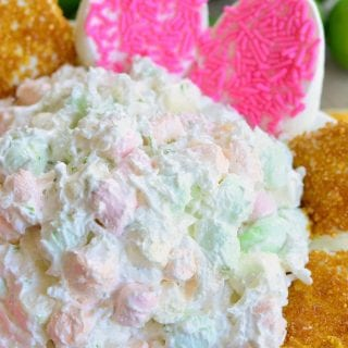 Coconut Key Lime Marshmallow Dip