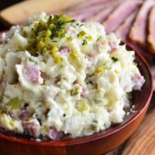 Corned Beef Potato Salad