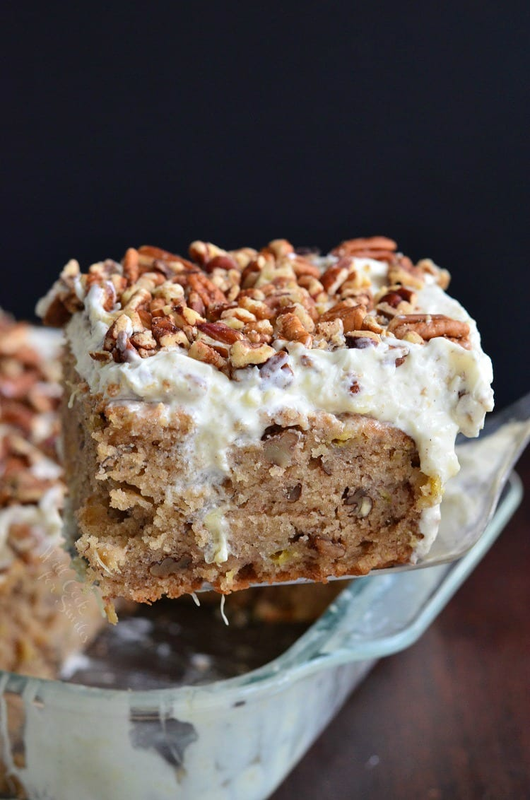 Hummingbird Cake Recipe. Beautiful and easy spring and summer dessert. | from willcookforsmiles.com