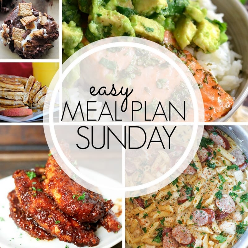 Meal Plan Sunday Week   Will Cook For Smiles