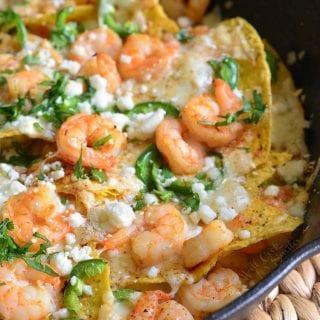 Jalapeno Shrimp Nachos