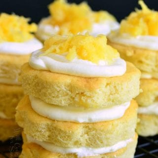 Mini Pineapple Cake