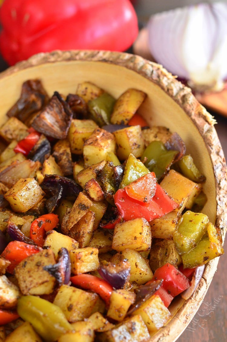 Southwest Roasted Potatoes. from willcookforsmiles.com