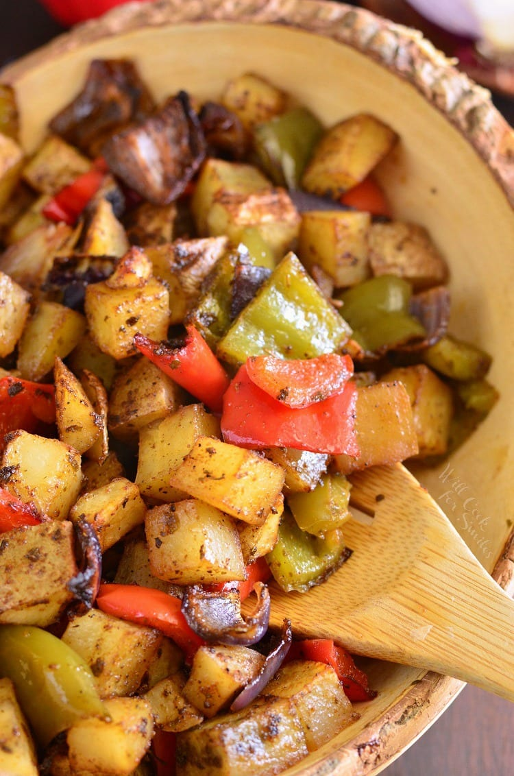 Southwest Roasted Potatoes Will Cook For Smiles