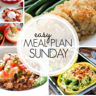Easy Weekly Meal Plan #98