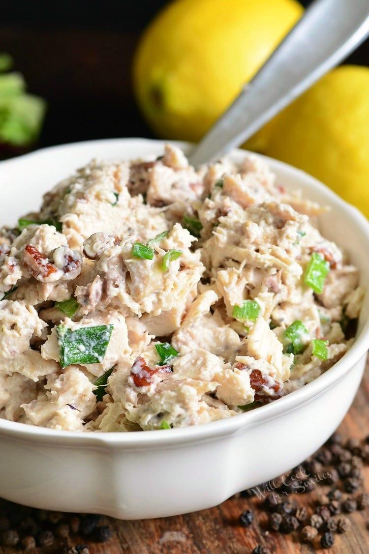Lemon Pepper Rotisserie Chicken Salad - Will Cook For Smiles