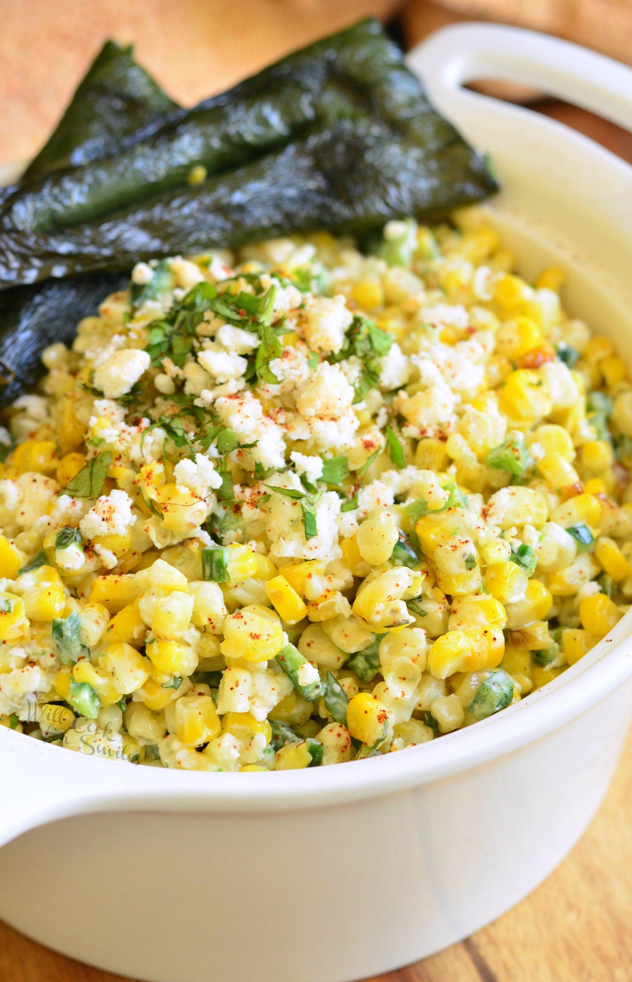 Mexican Street Corn Salad Will Cook For Smiles