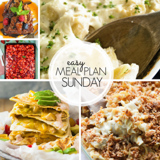 Easy Weekly Meal Plan #104