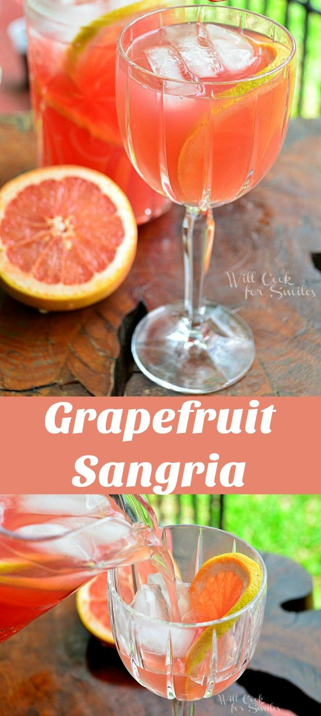 The best Grapefruit Sangria