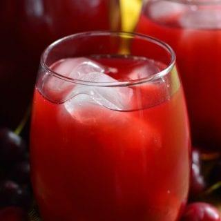 Homemade Cherry Arnold Palmer