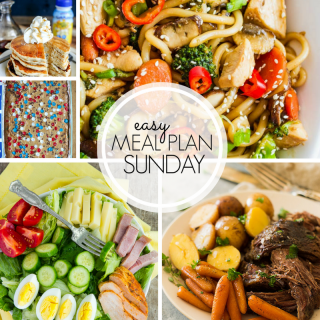 Easy Weekly Meal Plan #102