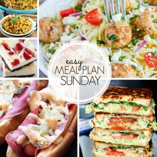 Easy Weekly Meal Plan #101