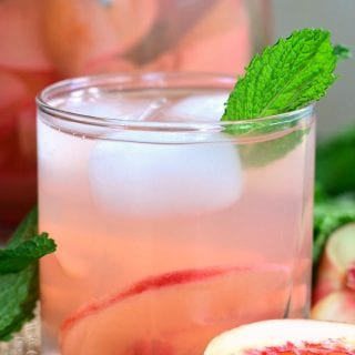 Mint Peach Rose Spritzer