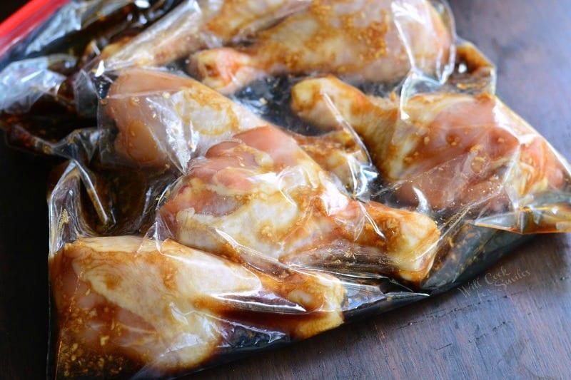 Sweet Garlic Grilled Chicken Drumsticks.