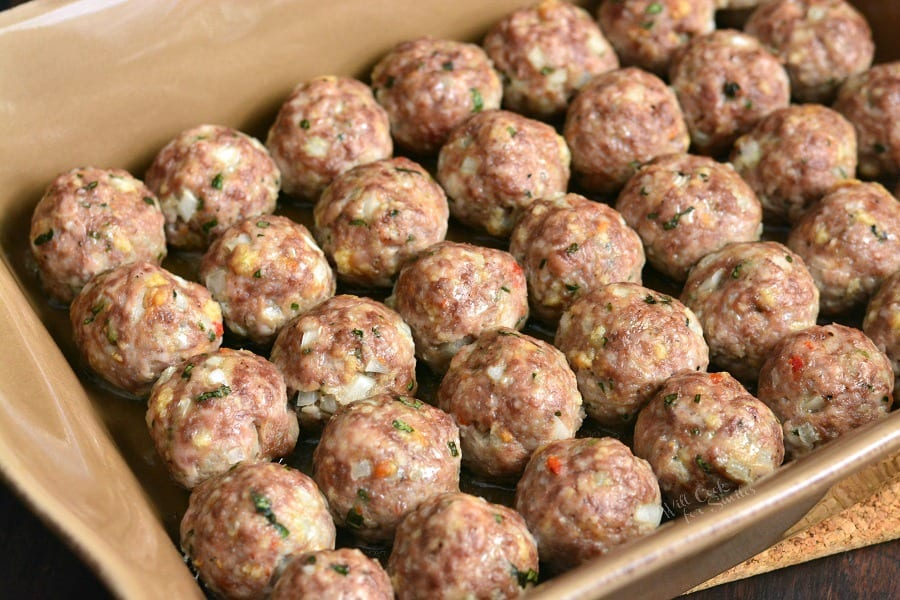 How To: Freezing Meatballs.
