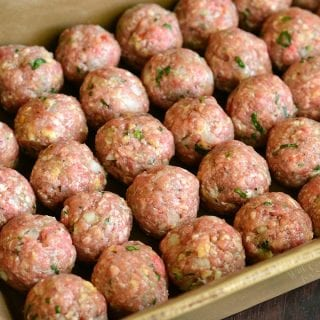 How To: Freezing Meatballs