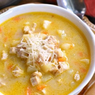 Creamy and Chunky Turkey Potato Soup