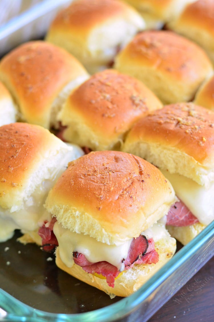 Hot Pastrami Sliders. #sliders #pastramisandwich
