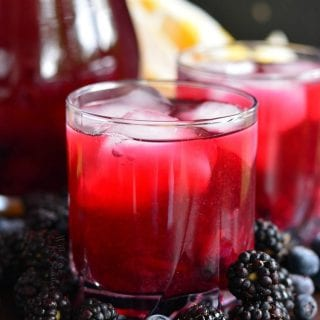 Blueberry Blackberry Iced Green Tea