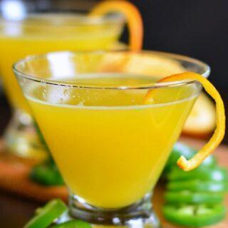 Orange Jalapeno Margarita