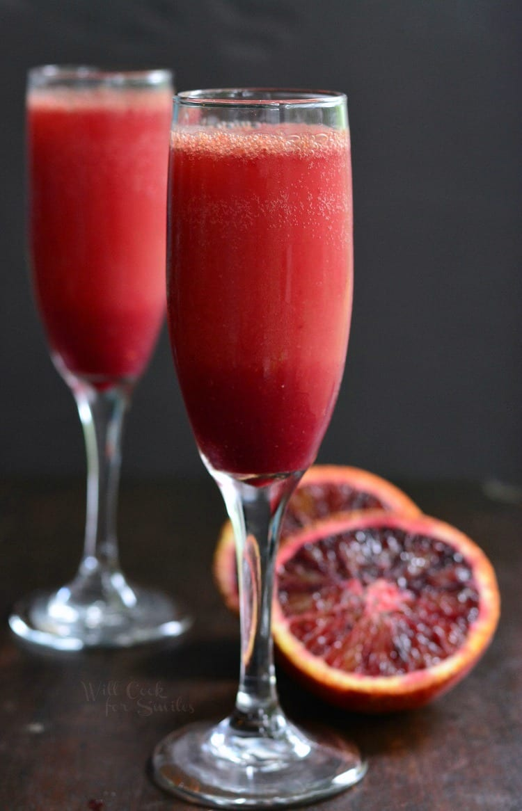 Brunch Cocktails: Blood Orange Mimosa