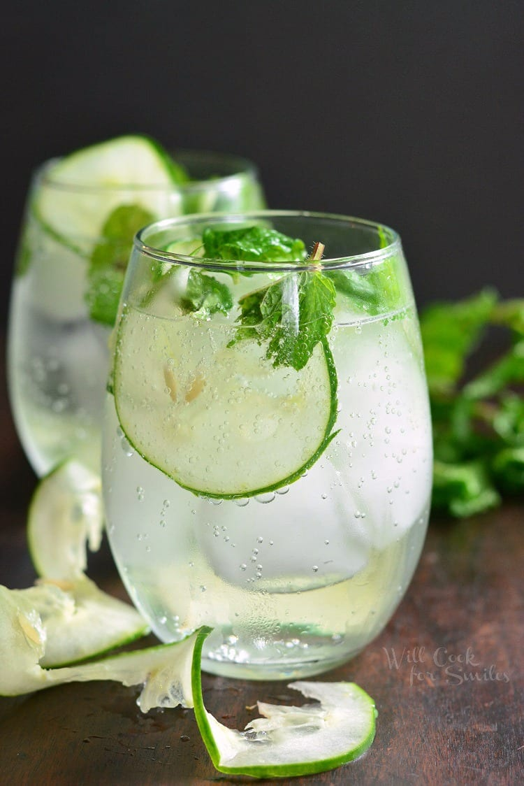 Brunch Cocktails: Cucumber Mint Gin Cocktails