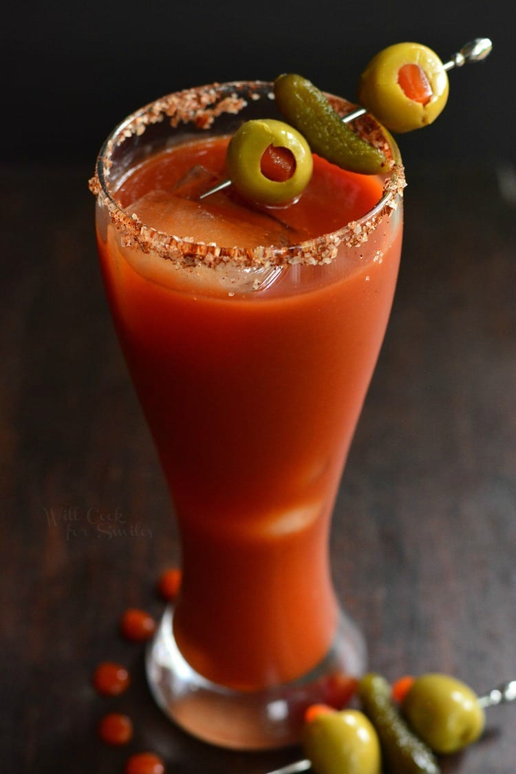 Brunch Cocktails: Spicy Bloody Mary