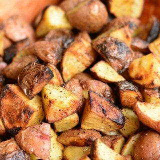 Grill Roasted Garlic Potatoes
