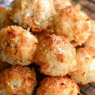 Salted Cashew Coconut Macaroons